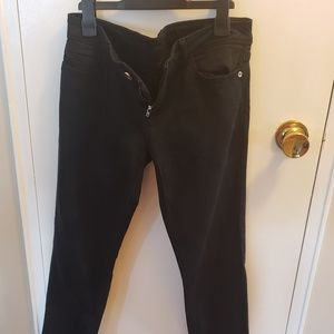 Zara 1975 black  basic denim jeans